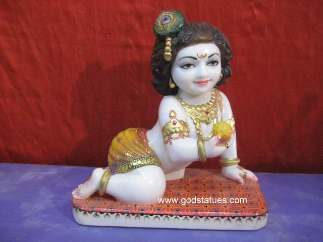 Baby Krishna ladoo gopal