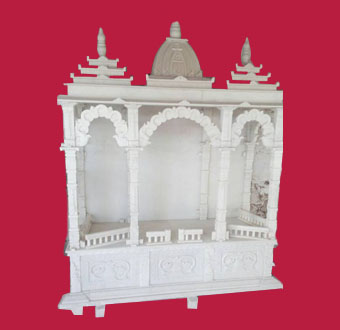 Mandir-White-Marble
