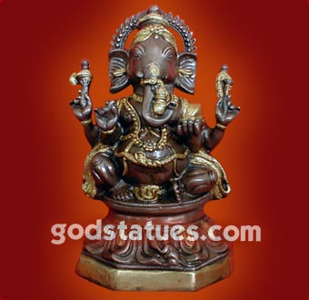 brass-ganesh-double-colours