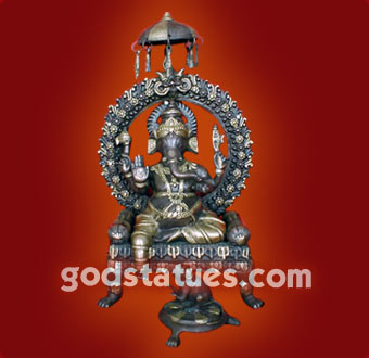 brass-ganesh-on-asan-chatri