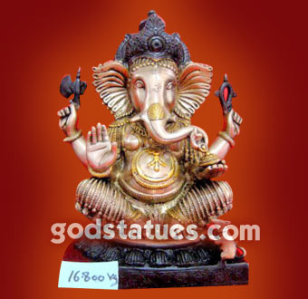 brass-ganesh-with-temple