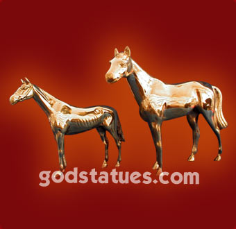 brass-horse-pair