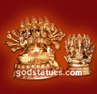 brass-puchmukhi-ganesh1