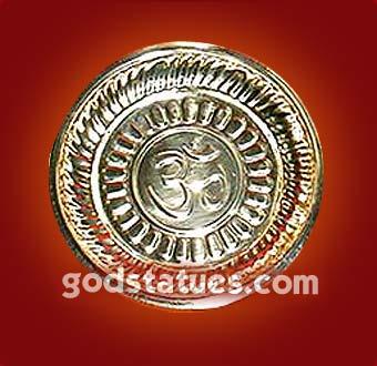 brass-thali-om