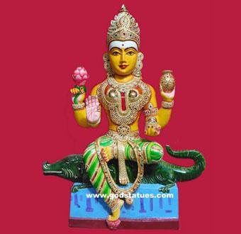 ganga-ma-statue