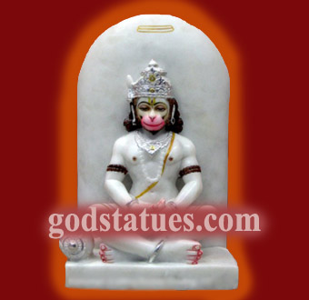 hanuman-with-shivling