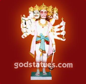 panchmukhi-statue