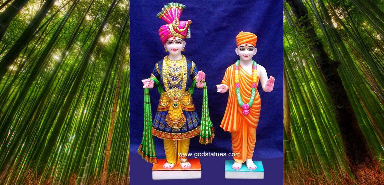 vishnu laxmi narayan marble statues