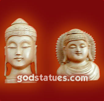 wooden-budha-heads