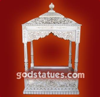 wooden-mandir-altar